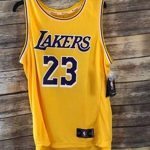 Lakers Jersey Adult Medium LeBron 23 Los Angeles